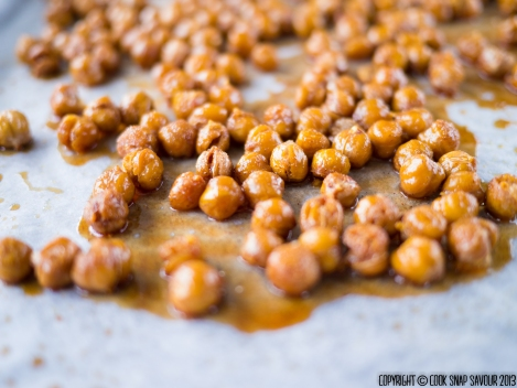 Honey Roasted Nuts (Chickpeas) 01