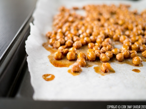 Honey Roasted Nuts (Chickpeas) 02