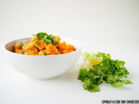 Thai Style Sweet Potato Curry 02