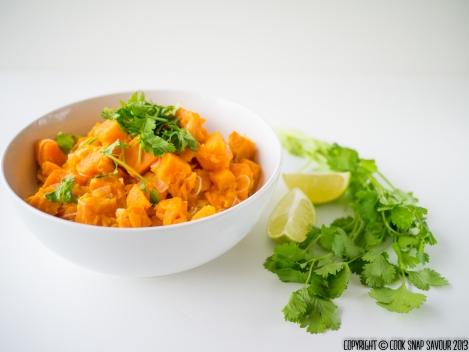 Thai Style Sweet Potato Curry 03