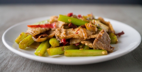Featured Stir-Fried Pork with Cumin 02