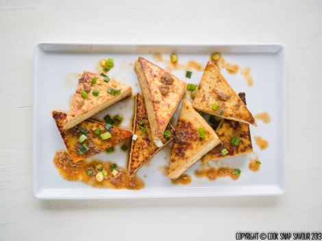 Honey-Ginger Tofu 01