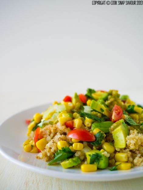 Quinoa Salad with Honey-Jalapeno-Lime Dressing-2