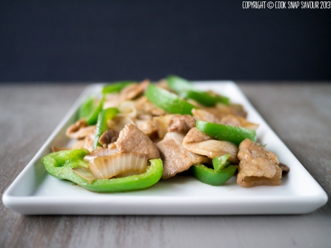 W Stir-Fried Pork and Onion 01