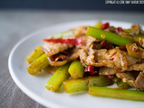 Stir-Fried Pork with Cumin 01