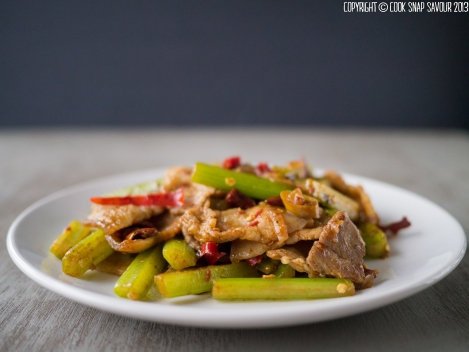Stir-Fried Pork with Cumin 02